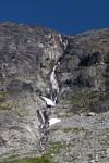 Waterfall near Wedgemount Lake